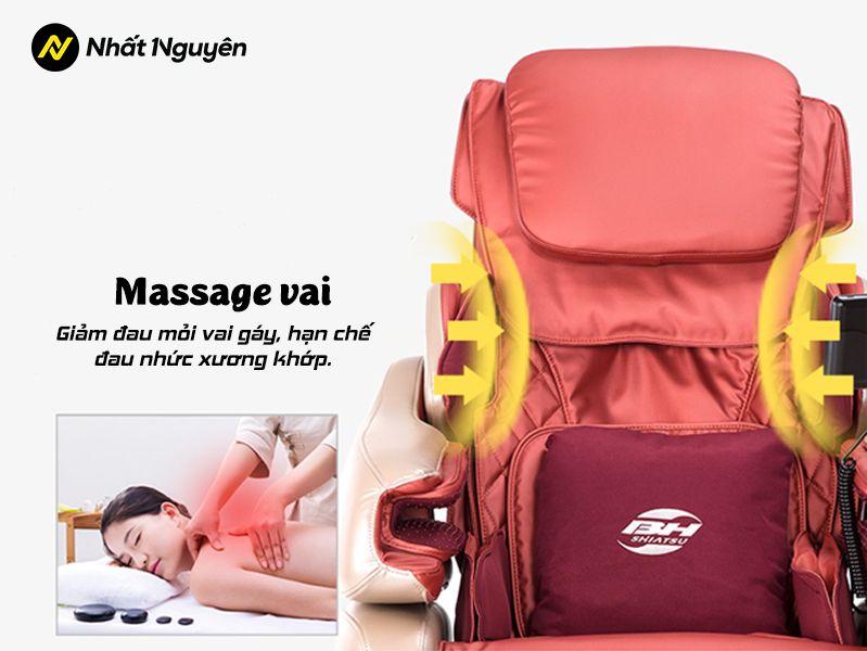 Ghế Massage BH Fitness